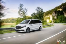 Voici la Mercedes-Benz EQV 2020