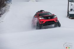 """The custom Nissan """"Winter Warrior"""" crossovers are ready to tackle even the record-breaking snowfalls experienced by many parts of the country already this year."""