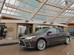 The 2016 Toyota Avalon is certainly no dinosaur, but it does serve as a link back to a time when you didn't need four-wheel drive to boast about your status in life.