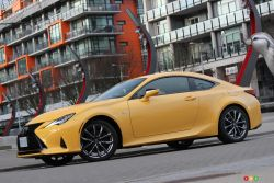 We drive the 2019 Lexus RC 350