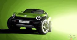Introducing the Volkswagen ID. Buggy concept