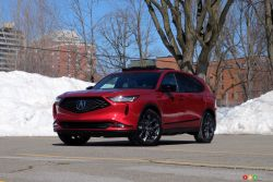 We drive the 2022 Acura MDX