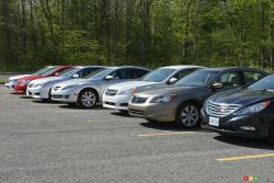 2010 Midsize Sedan Comparasion test pictures: Full gallery of the 2010 Midsize Sedan Comparasion test pictures