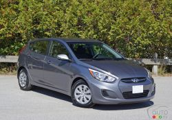 A new Hyundai Accent will soon be upon us, but until then the current 2016 model continues forward as Canada's most popular subcompact model.