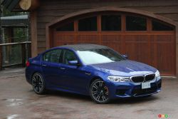 2018 BMW M5: outstanding power and driving experience