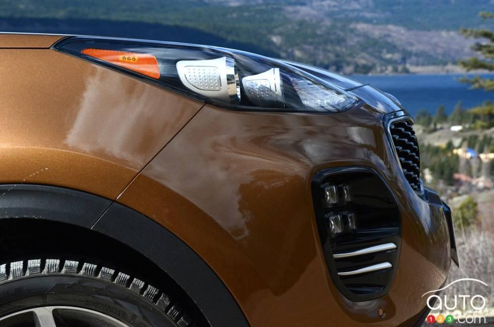 2017 Kia Sportage exterior detail