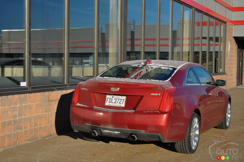 2016 Cadillac ATS4 Coupe pictures | Photo 3 of 22 | Auto123