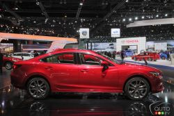 Mazda presented their all new Mazda6 at the 2014 Los Angeles auto show and we have a picture gallery.