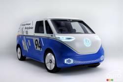 Meet VW's new electric commercial van concept