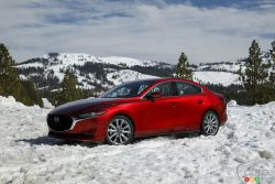 We test drive the new 2019 Mazda3