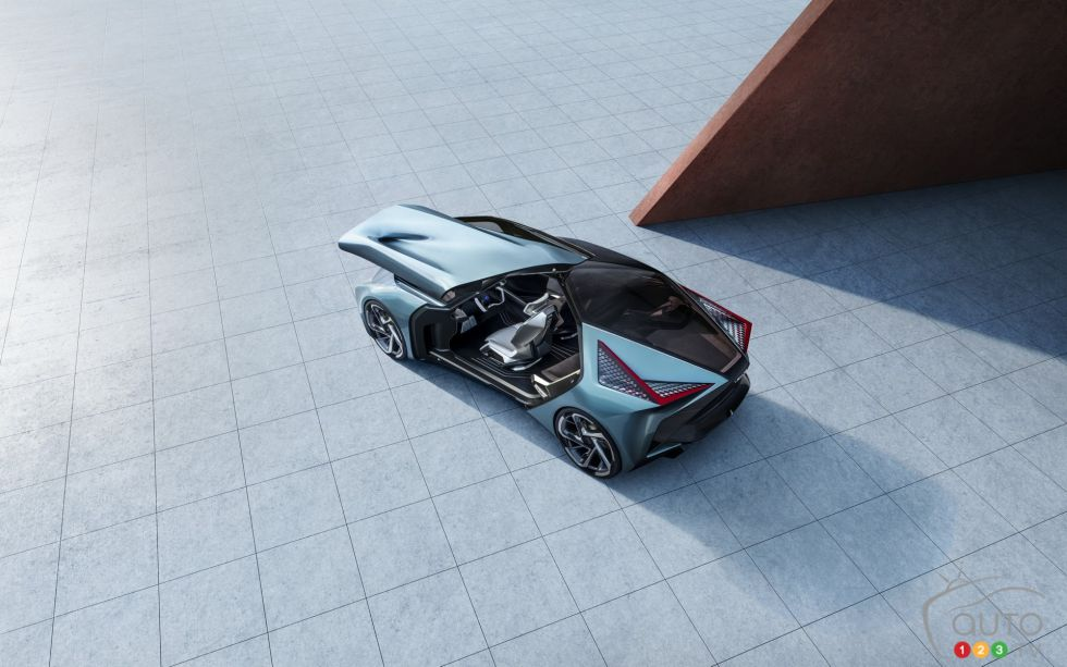 introducing the Lexus LF-30 Electrified concept