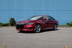 Nous conduisons la Honda Accord Touring 2019