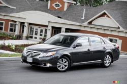 The 2011 Avalon features a distinctly more exciting profile than that of the first two generations that preceded it.