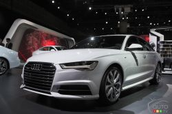 Audi presented the all new 2016 A6 at the 2014 Los Angeles auto show and we have a picture gallery.