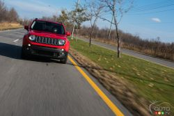 "In its category, the Renegade wins the ""utility"" portion, loses out because of an iffy transmission."