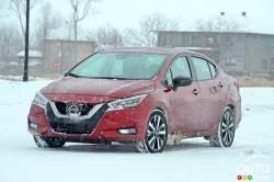 Nous conduisons la Nissan Versa 2021