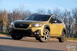 Nous conduisons le Subaru Crosstrek Outdoor 2021