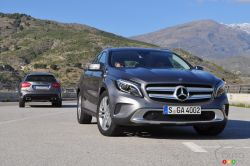 The latest arrival from Mercedes-Benz' very large line-up of products inserts itself in a burgeoning category. This relatively new segment is growing and will likely find many likers in the near future. The GLA-Class is meant to bridge a gap between the B- and C-Class vehicles without ever feeling like a compromise. In fact, it may be that those who preferred the previous C-Class wagon might find what they are looking for in the GLA, if the GLK-Class seems too SUV-like.