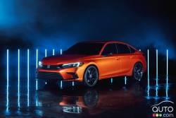 Introducing the 2022 Honda Civic prototype