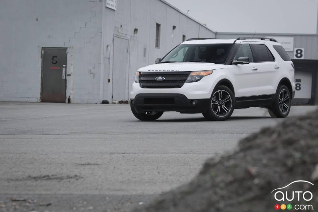 rappel pour 12 392 ford explorer 2011 2012 et 2013 actualit s automobile auto123. Black Bedroom Furniture Sets. Home Design Ideas