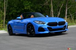 Nous conduisons la BMW Z4 2020
