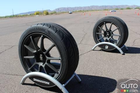 Bridgestone Potenza tire test pictures