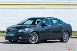 Performance-ready engineering makes the Buick Verano as thrilling to drive as it is to look at.