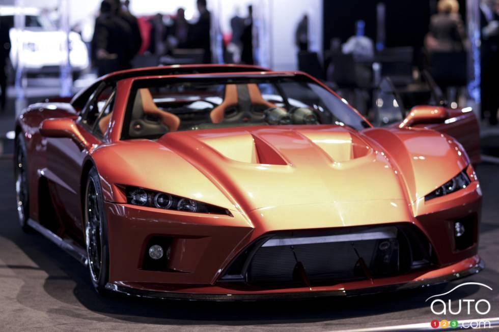 Falcon Motors F7 pictures at 2012 Detroit Auto Show