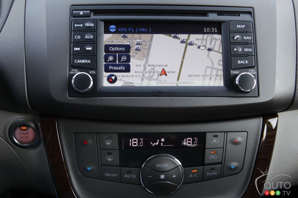 2013 Nissan Sentra SV picture on Auto123.tv