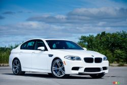 The new M5, especially draped in Alpine White, is as beautiful to behold as it is savage to drive. There are few other cars on the road today under the quarter-million dollar price tag that have any hope to tango with this car.