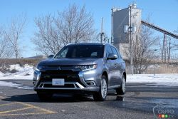 Nous conduisons le Mitsubishi Outlander PHEV 2019
