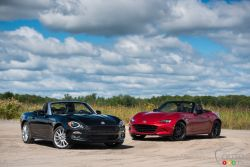 Built on the same production line, are these two roadsters equal?