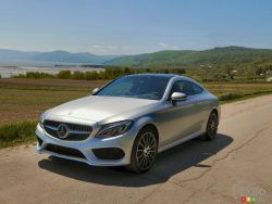 The all new 2017 Mercedes-Benz C300 4MATIC Coupe his here!