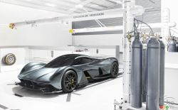 The ridiculous Aston Martin Hypercar AM-RB 00. Check it out