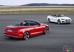 The premiere of the fully redesigned 2017 Audi A5 Cabriolet and S5 Cabriolet completes the new generation of the A5 family, which debuted in coupe form earlier this year. Check out the superb pics!