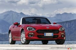 Turbo engine and convertible, is the Fiat 124 Spyder the best roadster?