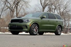 We drive the 2021 Dodge Durango R/T