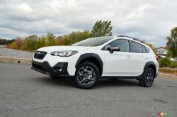 We drive the 2021 Subaru Crosstrek Outdoor