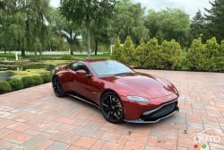 We drive the 2020 Aston Martin Vantage