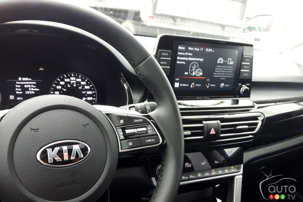 We drive the 2021 Kia Seltos EX