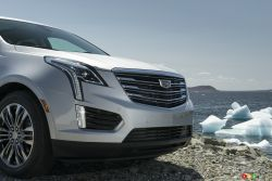 2017 Cadillac XT5 front grille