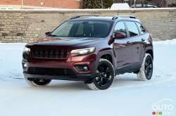 Nous conduisons le Jeep Cherokee 2020