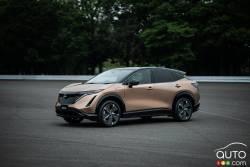 Voici le Nissan Ariya 2022