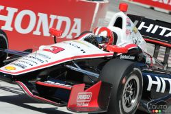 Friday's pictures from the 2013 Toronto Indy: Dario Franchitti earned  Indy car pole at Toronto for Race 1 of the Honda Indy Toronto doubleheader weekend on July 13.