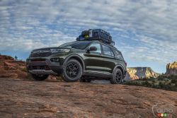 Voici le Ford Explorer Timberline 2021