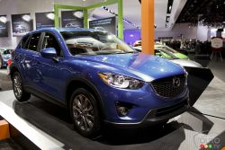 Dynamic new crossover hits the scene - The 2013 Mazda CX-5, available in GX, GS and GT models, has a 2.0L four-cylinder engine developing 155 horsepower, coupled with a 6-speed manual or automatic transmission.