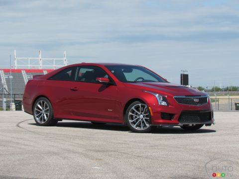 2016 Cadillac ATS-V pictures