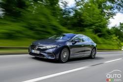 Voici la Mercedes-Benz EQS 2022