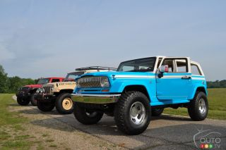 Various Jeep Concepts