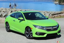 The all new 2017 Honda Civic Coupe. Will it still be the category champion?